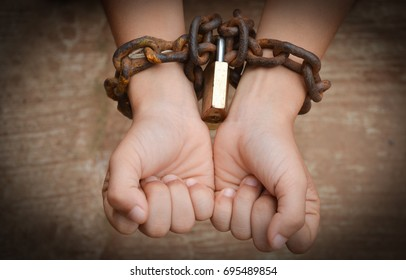 Hand chained