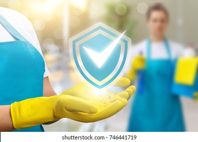 In hand cleaners a symbol of high-quality cleaning.