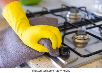 Cleaning Kitchen Images, Stock Photos & Vectors | Shutterstock