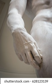 Hand of David's sculpture