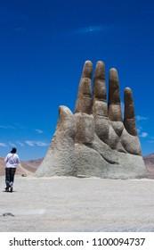 Hand of desert