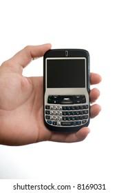 hand displaying a smart phone