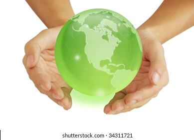Hand and the Earth