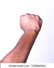 Hand fist staight