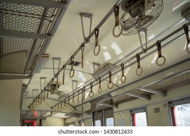hand grip Rail In the Locomotives train