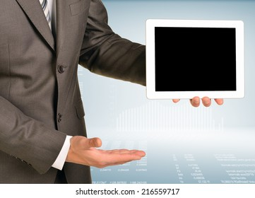 Hand hold tablet pc