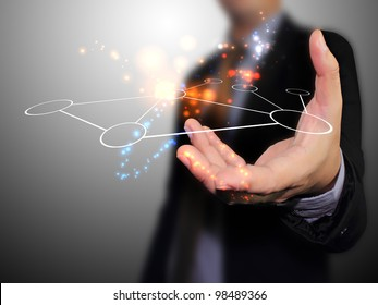 Hand holding network