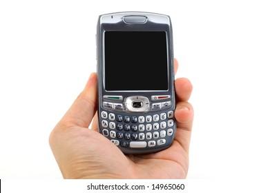 Hand Holding Smart-phone