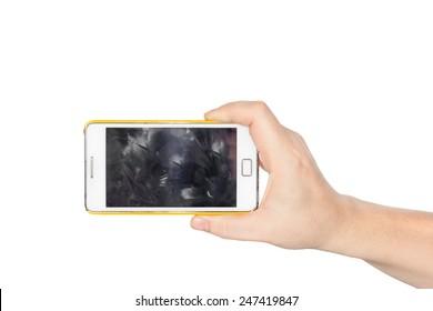 Dirty phone pics