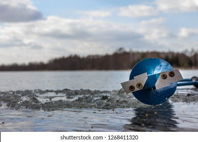 Ice Auger Images, Stock Photos & Vectors | Shutterstock