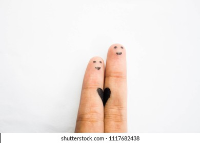Hand love smaile
