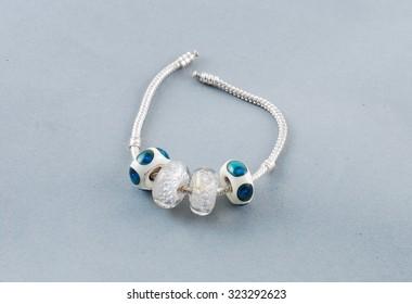 Hand made beads for bracelet