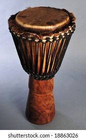 Hand made dumbek or Djembe drum used for belly dancing