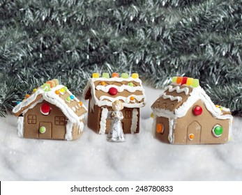 hand made gingerbread houses