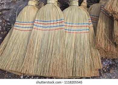 Hand Made Sorghum Broom Heads Brushes