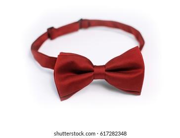 Hand maid Bow Tie white backraund