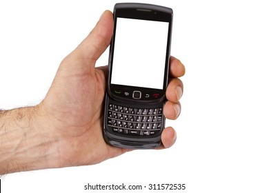 hand with mobile