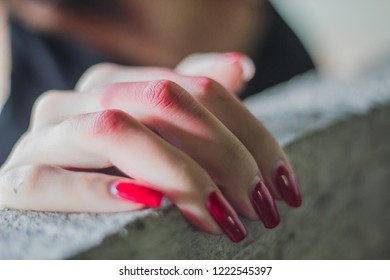 Staining Nails Stock Photos Images Photography Shutterstock