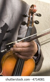 hand old fiddle