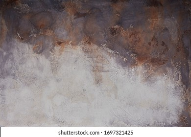 Hand painted background. Backdrop photography. Empty copy space.