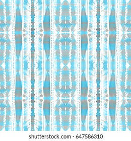 Hand painted watercolor pattern. Minimalistic seamless design