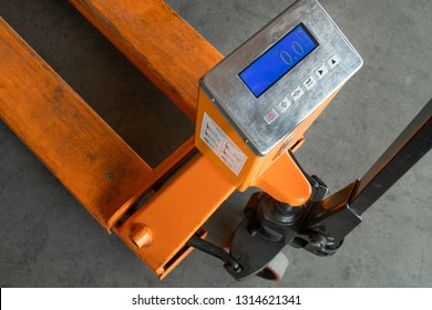 hand pallet truck weigh scales digital.