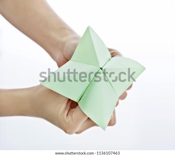 Origami - Fortune Teller - YouTube   533x600