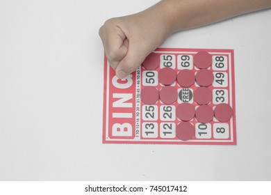 Hand Play Bingo Game,Play loser, no luck.