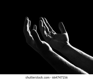 Hand pray.