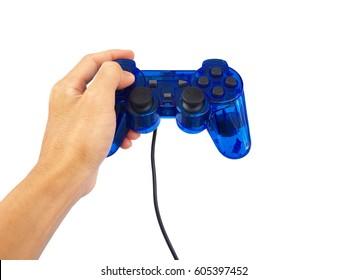 Hand is press control joy Games.