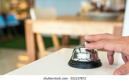 hand press metal buzzer service in restaurant,Ringing service bell