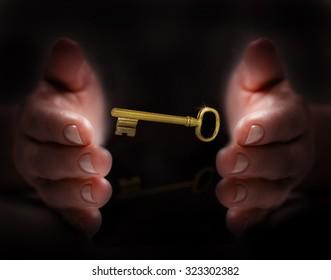 hand protect key