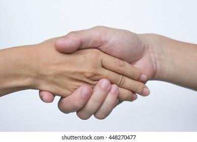 hand to hand ; shake hand ; friendship ; relation ; coordinated