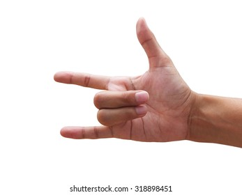 Hand Showing Punch Symbol