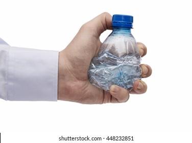 Hand squeezing Plastic bottle, PET