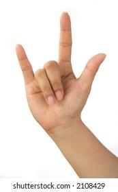 Hand Talk Series - I love you