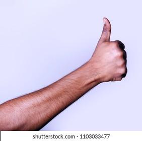 Hand Thumbs up Like