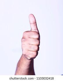 Hand thumsup image