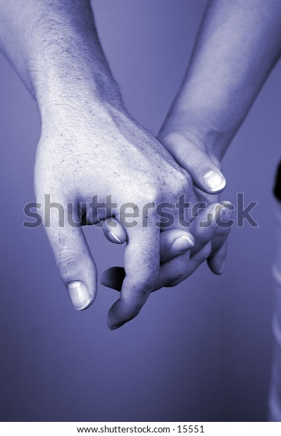 hand together