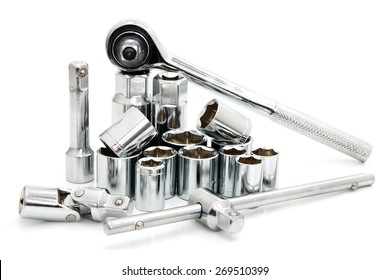 hand tool on white background
