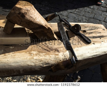 Hand Tools Woodworking Scraper Wood Products Stock Photo Edit Now