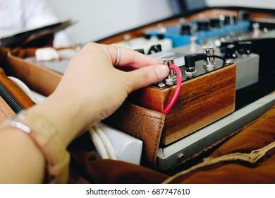 Hand tune effect Guitar