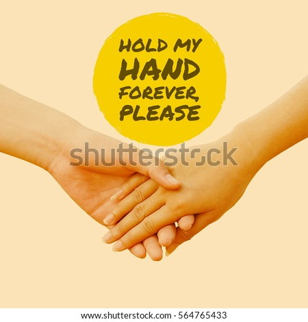 Awesome Hold My Hand Forever Images