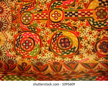 hand woven indian art