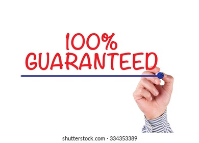 Hand Writing 100% GUARANTEED on Transparent Wipe Board