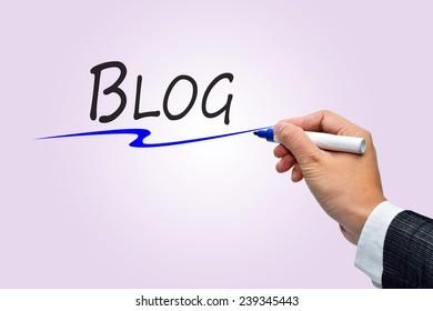 Hand writing Blog