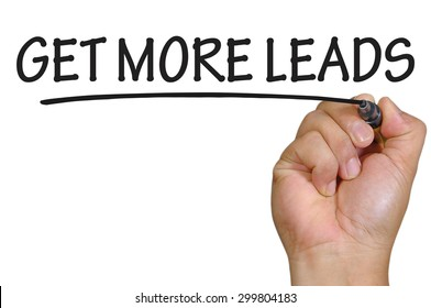 The hand writing get more leads