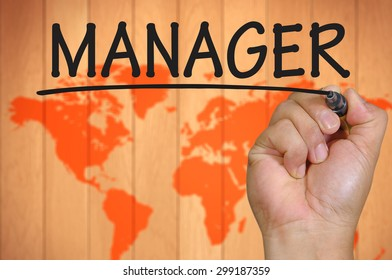 The hand writing manager