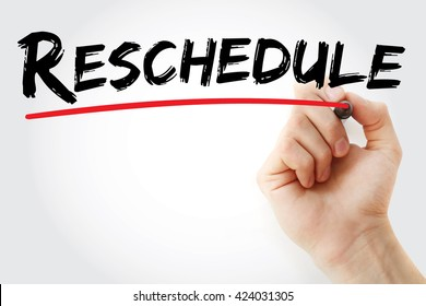 reschedule images stock photos vectors shutterstock