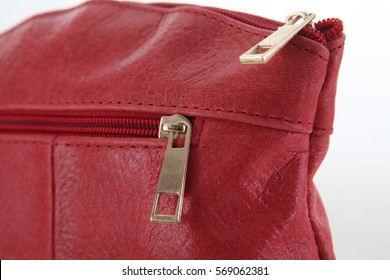 handbag on a white background